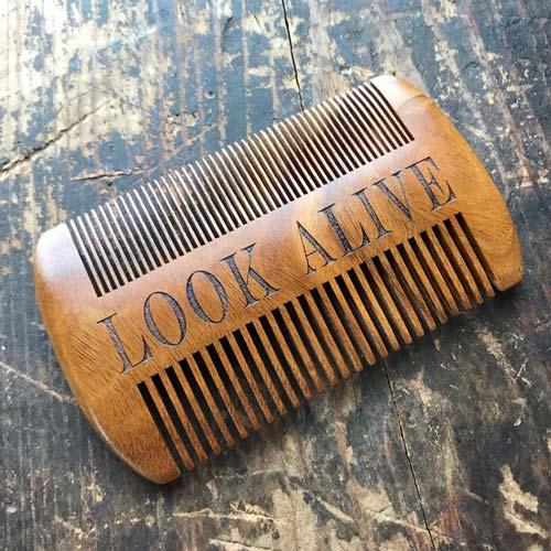 Personalized Beard Comb for Men