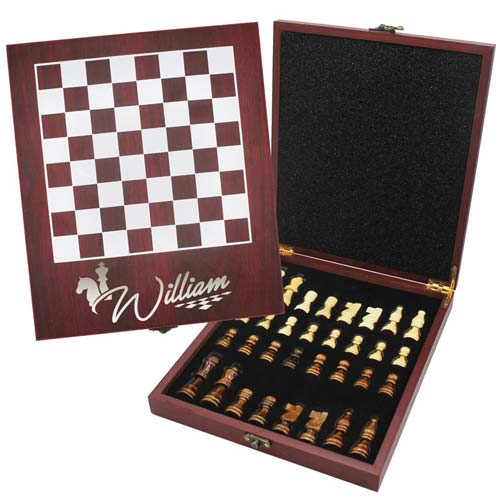 Personalized Chess Board Set
