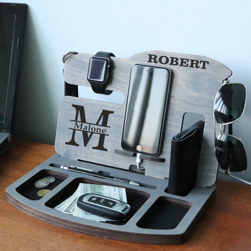 Personalized Desk Docking Station Surgeon Gifts