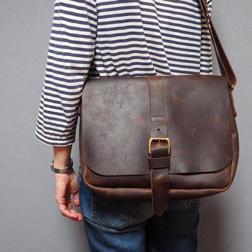 Leather Messenger Bag Gift Idea for Surgeons