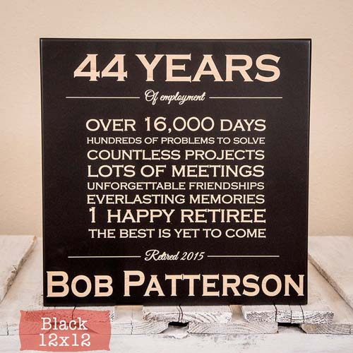 Custom Retirement Sign for Orthodontist