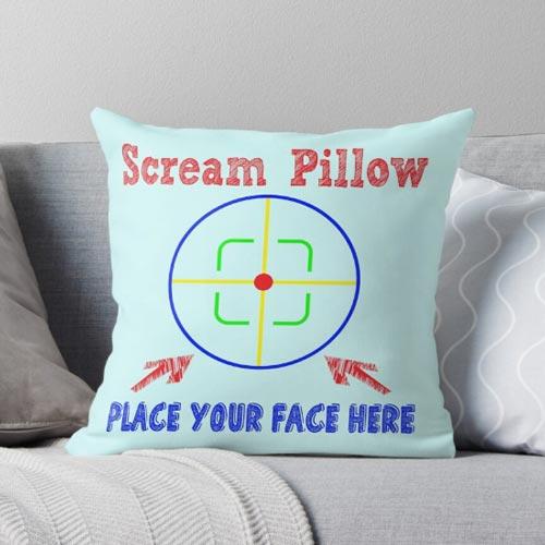 Funny Psychiatrist Pillow (Psychiatrist Gift Guide)
