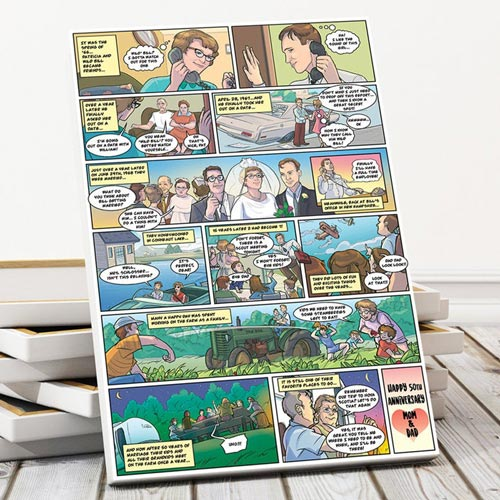 Thoughtful Gifts: Custom Comic Book