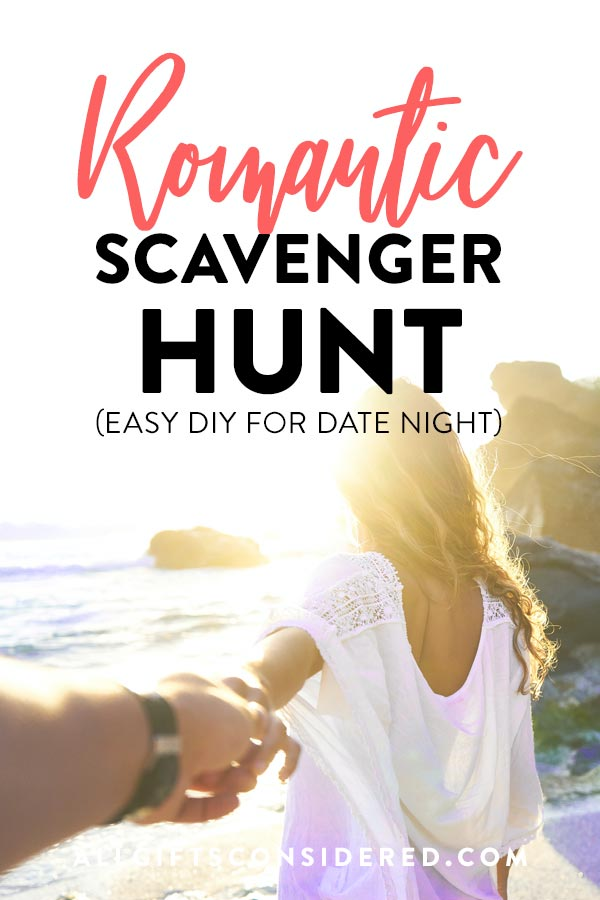 Easy DIY Romantic Scavenger Hunt