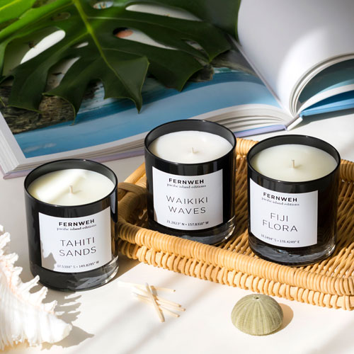 Travel-Scented Candles to Give as a Gift