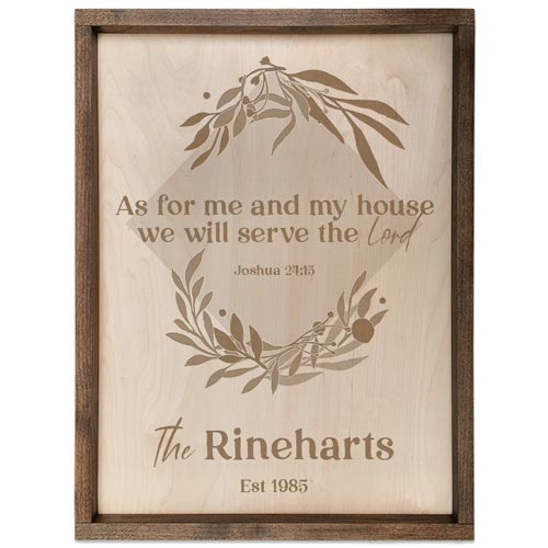 Pacific crest plaque personalized ouples gift idea