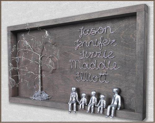 Couples family tree gift ideas