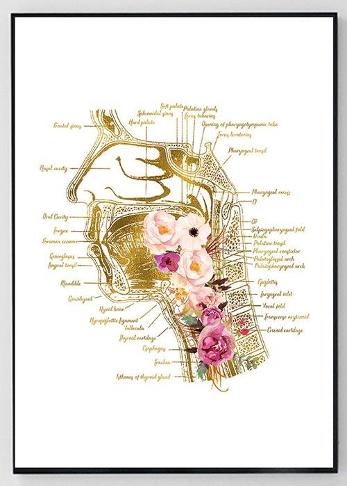 Cute flowers diagram SLP gift ideas