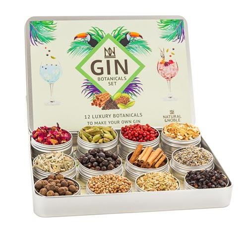 Gin botanicals mens gift idea