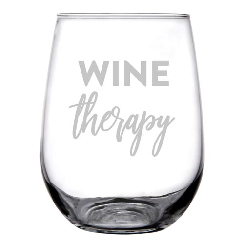 Personalized Stemless Wine Glass Gift for SLP
