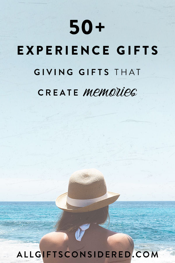 Experience Gift Guide - Create Memories