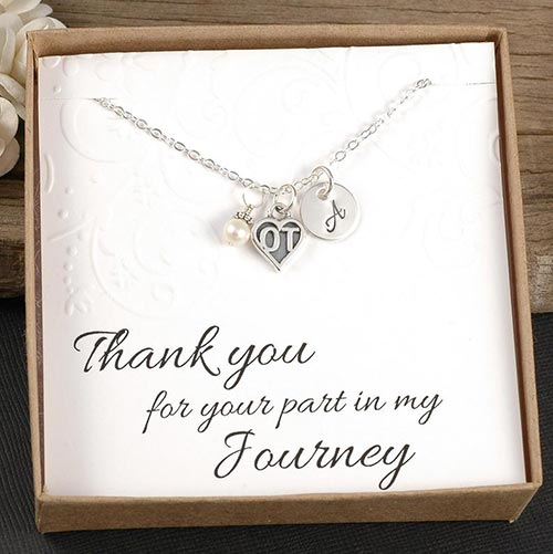Occupational therapist gifts: OT necklace