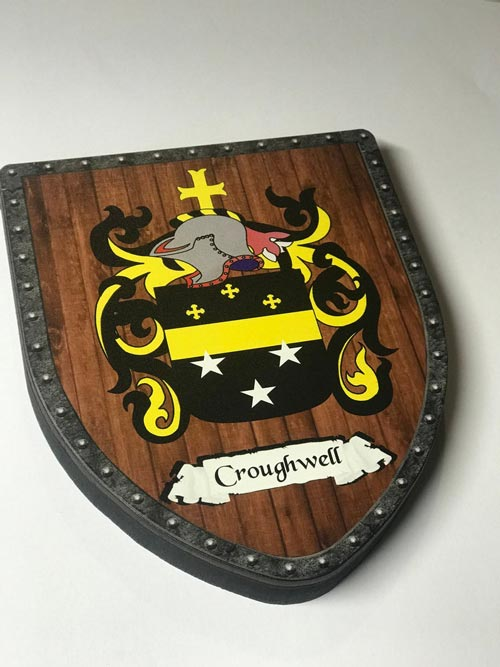 Family coat of arms men's gift idea
