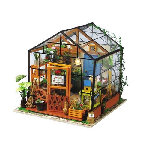 Miniature house model gift for guys