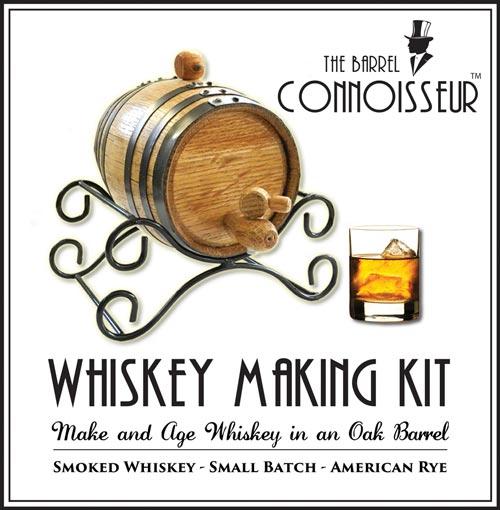 Whiskey making kit gift idea for men