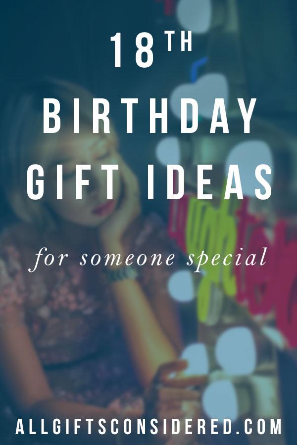 Best 18th Birthday Gift Ideas