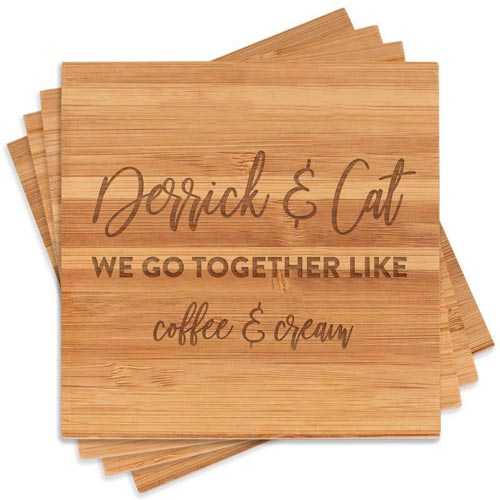 We go together like... coffee and cream!