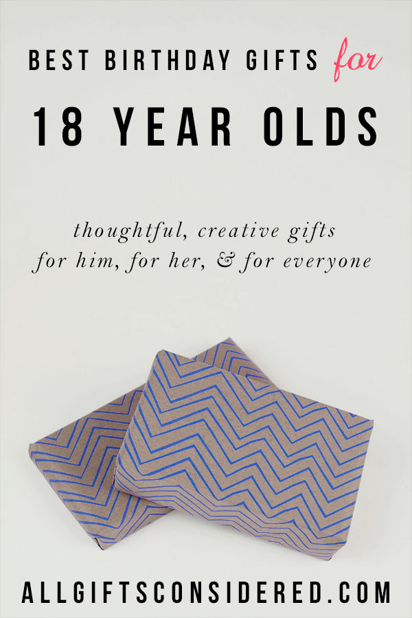 Best Birthday Gifts by Age - 18th Birthday Gifts