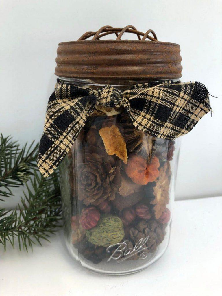 DIY Potpourri Mason jar