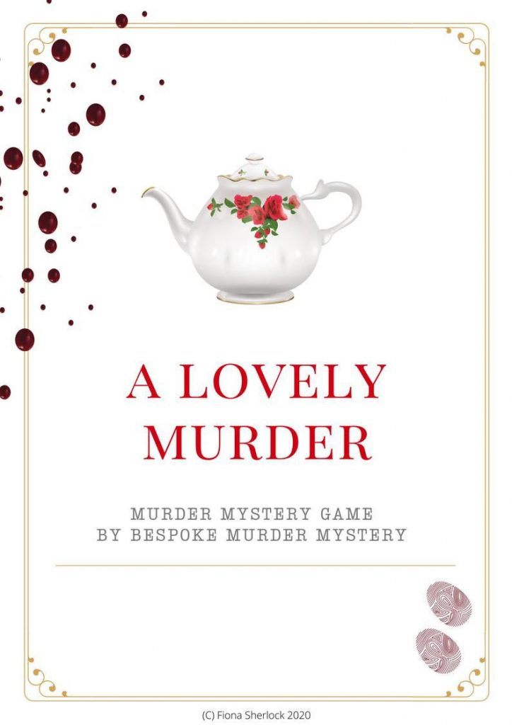 Murder mystery game to play with friends