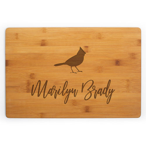 Last Minute Christmas Gifts for Mom - Personalized Cutting Board