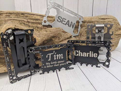 Personalized Credit Card-Sized Multi Tool