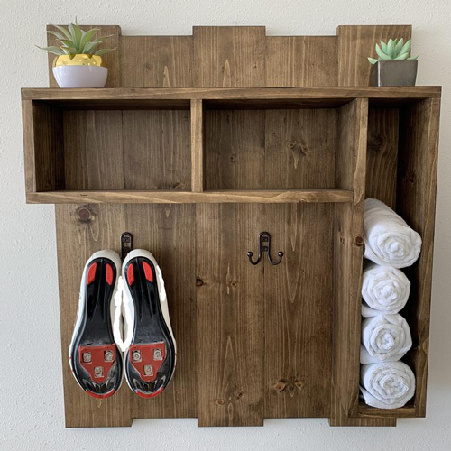 Practical Gifts for Him - Wood Shelf