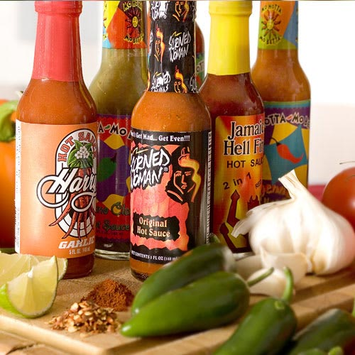 Hot sauce subscription from Amazing Clubs