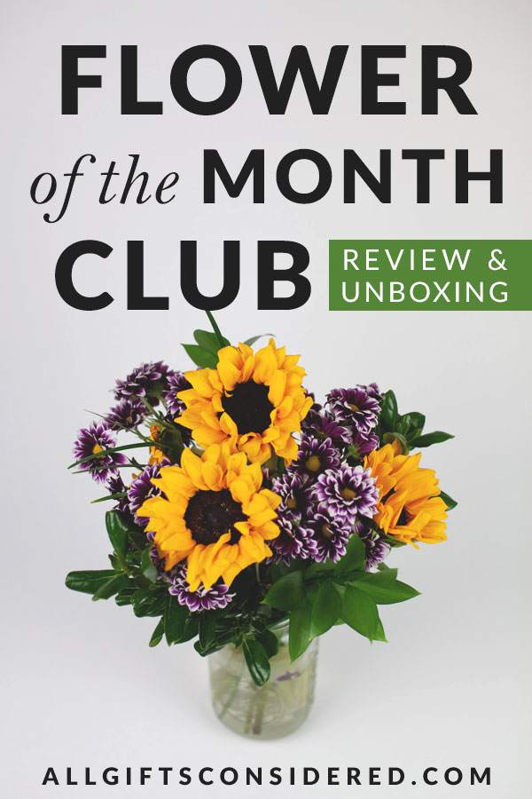 Flower of the Month Delivery - Review