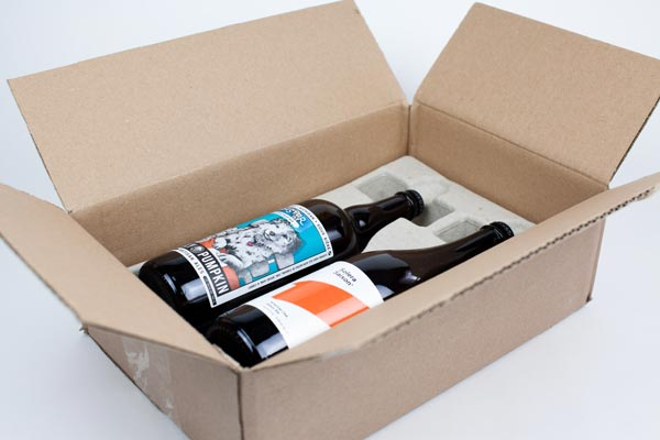 Rare Beer Club Delivery: Two Bottles, Well-Packaged