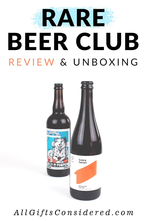 Rare Beer Club Craft Brew Subscription Box