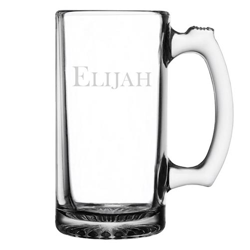 Custom-engraved glassware for him