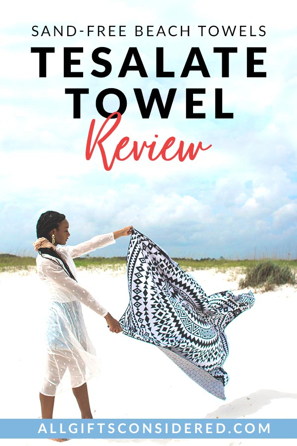 Tesalate Towel Review for Sand-Free Beach Towels