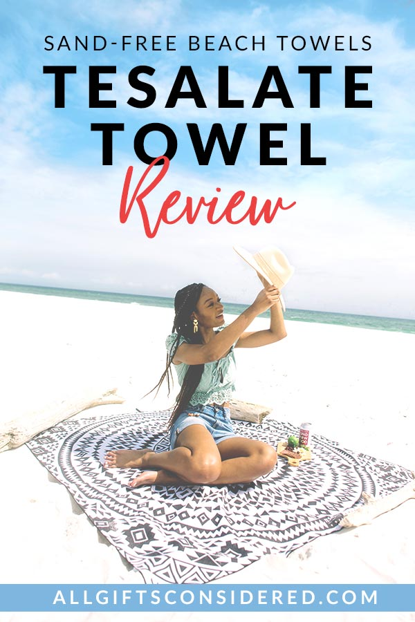 Our review of the sand-free beach towel from Tesalate