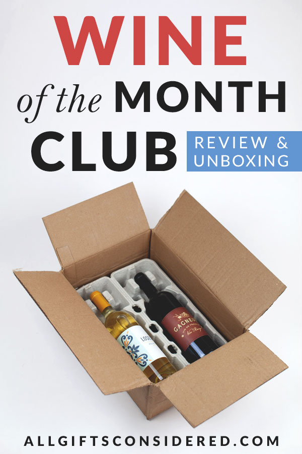 Unboxing the Wine of the Month Club