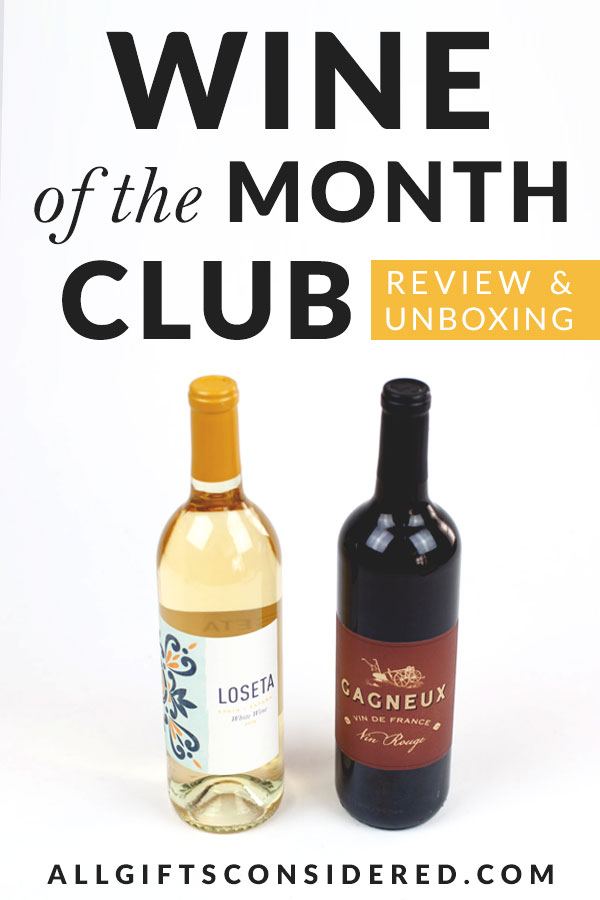 Wine of the Month Club Review & Unboxing