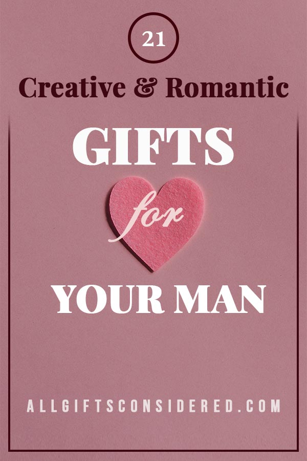 Creative and Romantic Gifts for your Boyfriend