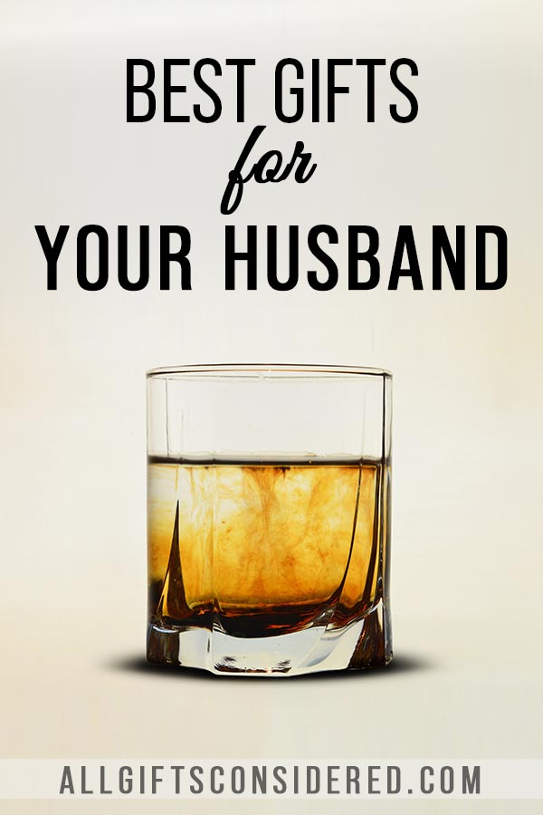 Gifts for Your Husband: Whiskey Glasses