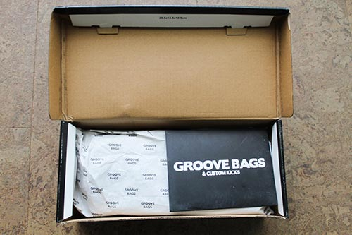 Unboxing my new Groovebags