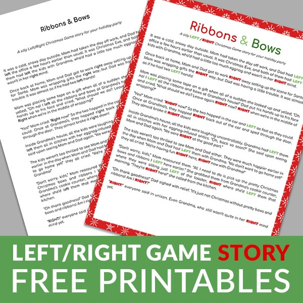 Left/Right Game Stories