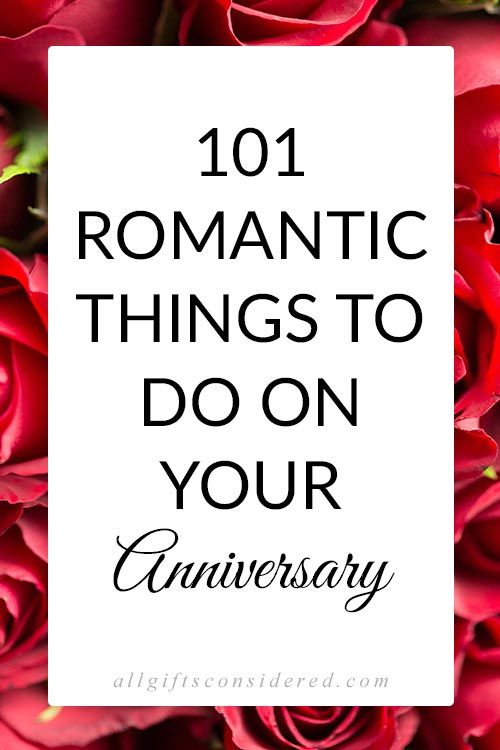 101 Romantic Ideas for Couples