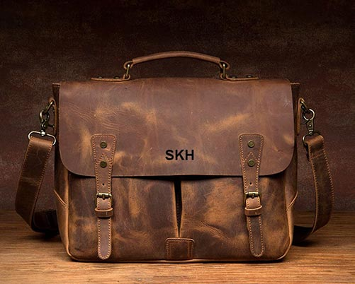 Amazing 21st Birthday Gifts for Him: Messenger Bag