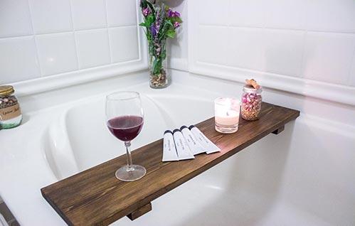 Bath Trays: Perfect Gift for Their 40th Birthday