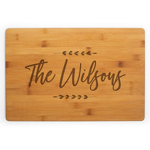 Personalized Cutting Board: Perfect Gift for Their 40th Birthday