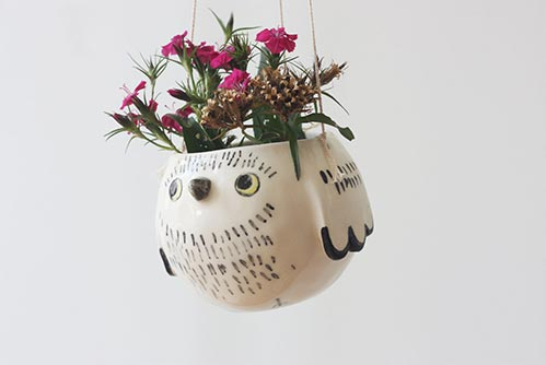 Owl Planter: Perfect Gift for Their 40th Birthday
