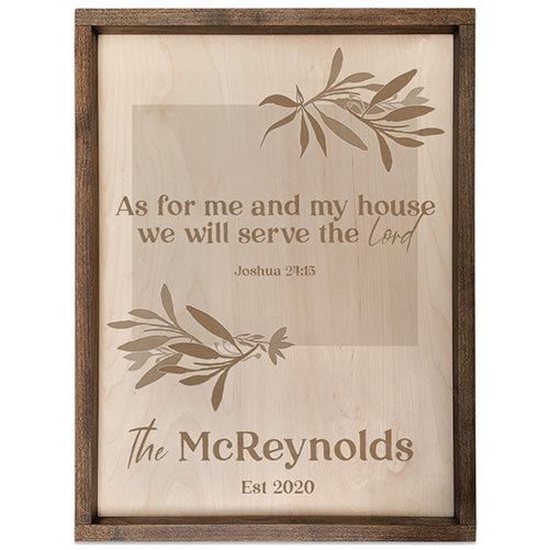 Personalized Scripture Plaque: Perfect Gift for Their 40th Birthday