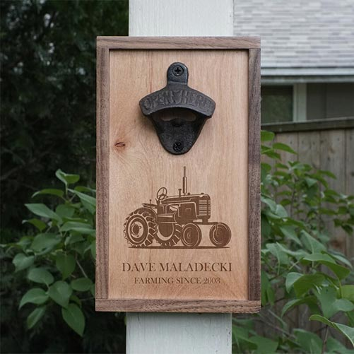 Personalized Bottle Opener for Their 50th Birthday Gift
