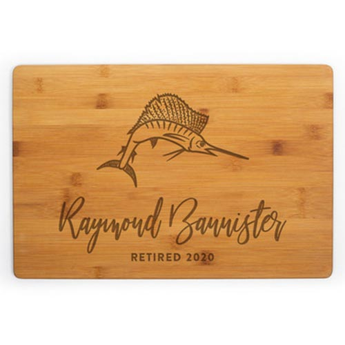 Personalized Cutting Board for Their 50th Birthday Gift