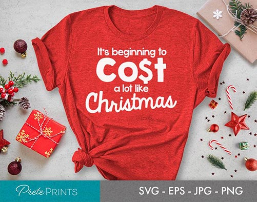 Hilarious Christmas quote shirt