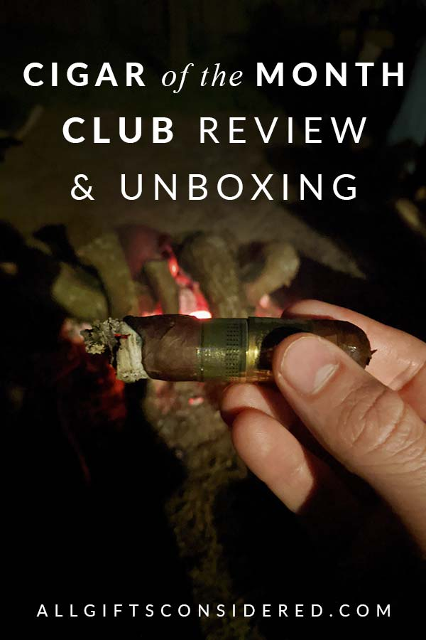 Cigar Subscription Box Review